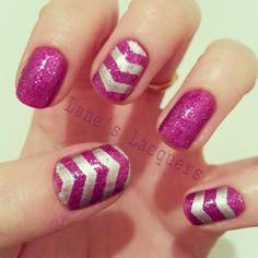 GOT-polish-challenge-chevron-manicure