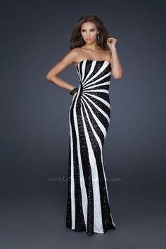 La Femme Black and White