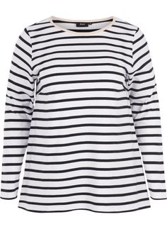 pretty nice f6594 f22d1 Bluse med lange ermer - Kjøp i str. 42-56 online på Zizzi.