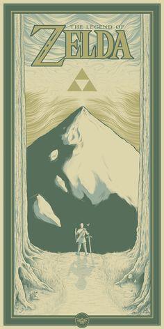 """""""The Legend of Zelda: Link's Incredible Journey"""" by Matthew Johnson - Hero Complex Gallery  - 1"""