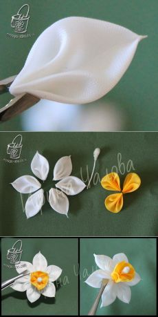 Enchanting Ribbon Embroidery Flowers by Hand Ideas - - Wonderful Ribbon Embroidery Flowers by Hand Ideas. Enchanting Ribbon Embroidery Flowers by Hand Ideas. Embroidery Designs, Ribbon Embroidery Tutorial, Ribbon Flower Tutorial, Silk Ribbon Embroidery, Embroidery Kits, Embroidery Stitches, Embroidery Supplies, Embroidery Tattoo, Japanese Embroidery