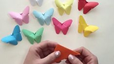 Wow, take your crafting to the next level with these amazing origami flowers at Go Origami. Origami is a good … Paper Butterfly Crafts, Paper Butterflies, Paper Flowers, Easy Origami Butterfly, Origami Butterfly Instructions, Butterfly Games, Butterfly Party Decorations, How To Make Butterfly, Paper Party Decorations
