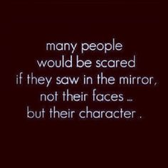 Most people are too focused on their physical self and their vanity!