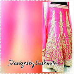 Indian haute couture #allthingsbridal #indiancouture #indianfashion #indianbride #desifashion #desibride #engagement #indianethnic #desicouture #bridalwear #atlanta #ukpunjabi #pakistanicouture #lehenga #desibeautyblog #desibride
