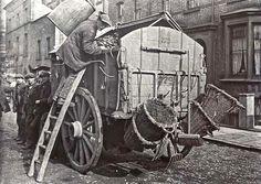 Dustcart, c. 1910, London