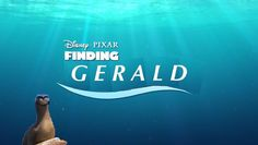 Finding Gerald YES ha ha ha this would be so funny Disney Nerd, Disney Love, Disney Magic, Disney Stuff, Disney And Dreamworks, Disney Pixar, Funny Memes, Hilarious, Pixar Movies
