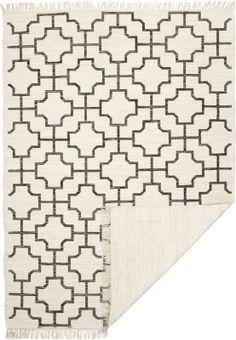 Kodin1 - ANNO Muuri-matto 60x120 cm valk/harmaa | Puuvillamatot