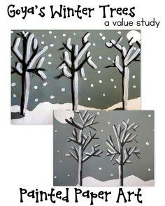 Winter Trees- Goya