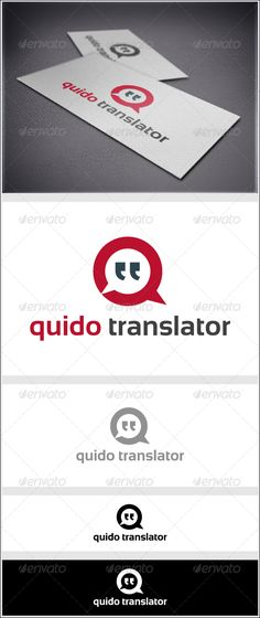 Translator - Symbols Logo Templates