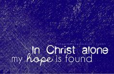 In Christ ALONE <3