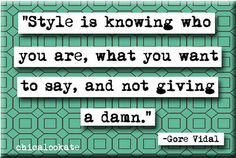 Gore Vidal Style Quote Refrigerator Magnet or Pocket Mirror (no.744)