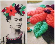 Bordado Mexicano + Sublimación por Nayla Marc // Workshop para Duduá