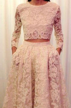 Formal Dresses Prom Dress Fashion Two Piece