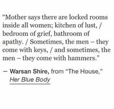 Warsan shire