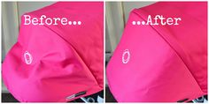 why is my bugaboo cameleon hood sagging heres a very simple fix before and after