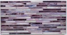 Gigi's Groovy Stixx- AlysEdwards Glass Tile- Purple Haze - eclectic - kitchen tile - Mosaic Tile Stone