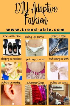 DIY Adaptive Fashion - fashion with an invisible disability doesn't have to be hard. Try these disability hacks for fashion. Yoga For Arthritis, Rheumatoid Arthritis, Buy Boots, Muscular Dystrophies, Adaptive Equipment, Yoga Pants Outfit, Elastic Waist Pants, Medical Prescription, Physical Education