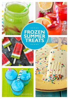 22 Fun Summer Snacks and Drinks
