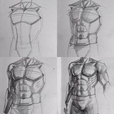 """981 Likes, 9 Comments - Aytaç Armağan (@aytcarmagan) on Instagram: """"#Muscle #desen #çizim #academia #draw #karakalem #drawing #sketch #sketchbook #eskiz #man #fitness…"""""""