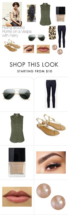 """""""Riding around Rome on a Vespa with Harry"""" by mackenziehedgepeth ❤ liked on Polyvore featuring Jack Wills, Vero Moda, Monsoon, Butter London, Lancôme, Van Peterson 925 and Tory Burch"""