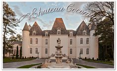 Houston wedding venue Chateau Cocomar, absolutely stunning, a quiet French palace tucked away in Texas!