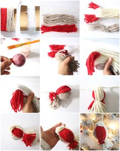 Craftberry Bush | Three Ideas to Update your Old Ornaments | http://www.craftberrybush.com