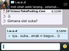 Testimoni untuk Strawberry Marble Pudding Cake