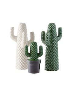 Tangier Mid-Green Décor 28cm There's nothing prickly about Tangier! Your fun-loving side will adore our ceramic cacti range, allowing you to bring that outdoor vibe indoors. Linen House. Cactus decor.
