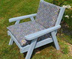 Details About Vintage Redwood Lawn Furniture Probably