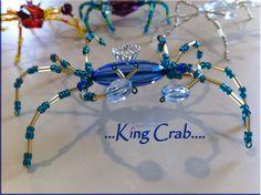 Beaded King Crab... $10.00 each...