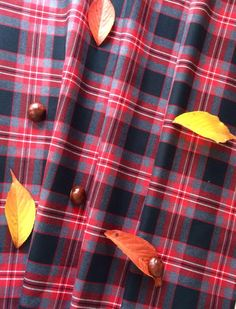 Červené kárované šaty s rukávy ADELE - MiaBella d33654168c