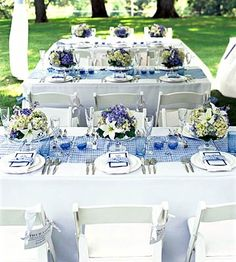Outdoor Blue & Purples