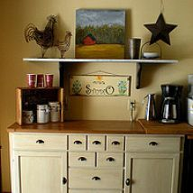 Home and Garden DIY Ideas, Photos and Answers ikea hack creating an antique look with chalk paint, chalk paint, painting, Ikea Markor buffet makeover AFTER Ikea Markor, Kitchen Furniture, Kitchen Decor, Kitchen Ideas, Kitchen Stuff, Furniture Makeover, Home Furniture, Furniture Refinishing, Painting Furniture