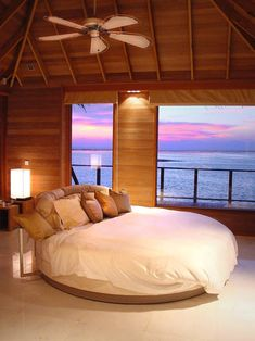 Beachfront bedroom at the Maldives #Travel #HotTipsTravel