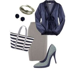 Business Casual, created by alyssa-leanne on Polyvore