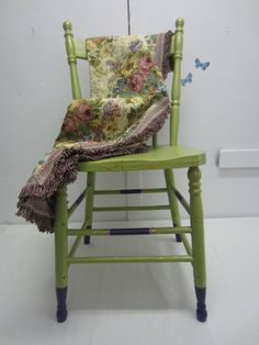 Dining chairs I painted and re-upholstered | My Creations ...