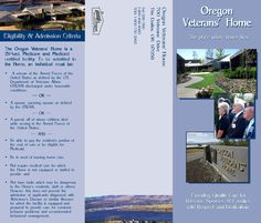 Oregon Veterans' Home : the place where honor lives, by the Oregon Department of Veterans' Affairs
