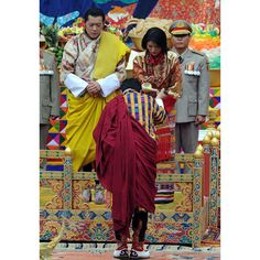 """The """"Dragon King"""", an Oxford graduate who came to power in 2008 at the start of democracy in Bhutan, married Jetsun Pema, the daughter of an airline pilot widely admired for her beauty and her impact on the love-struck monarch. Picture: PRAKASH SINGH/AFP/Getty Images"""