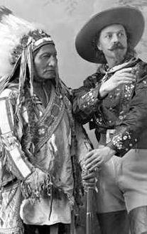 Sitting Bull and Buffalo Bill Cody 1885.