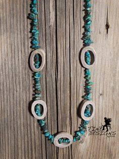 A personal favorite from my Etsy shop https://www.etsy.com/listing/229488274/deer-antler-turquoise-necklace