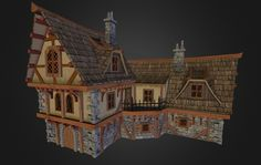 Medieval Coaching Inn by cg_duck