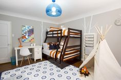 A Boy's Room Makeover Invites Play in the Great Indoors-slide2