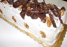 Ratolinha - Receitas de Culinária, Ponto de cruz, Fotos...: Torta de Noz
