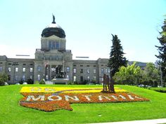 9-1-2014:  woke up to screaming S at 5am.  Not a great start to the day, but we visit the Capitol building in Helena, Montana today.