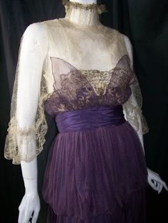 Edwardian dress, Dorothea's Closet Archives
