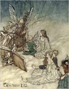 A midsummer-night's dream - Act II, Scene I: And a fairy song