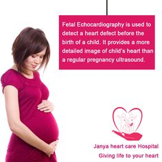 Foetal Echocardiography is mostly performed in the second trimester of pregnancy while the mother is about 18 24 weeks pregnant. Heart defects are most commonly birth defects. Early diagnosis in the fetal stage might help as it may provide an opportunity to easily plan and manage the baby at an early stage before birth.