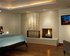 éclairage indirect led pour le plafond de votre chambre à coucher