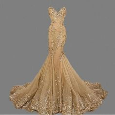 Cheap long gold prom dresses, Buy Quality gold prom directly from China gold prom dress Suppliers: Sweetheart Mermaid Evening Dresses Long Gold Prom Dress Sequined Appliqued Pageant Gown vestido de festa robe de soiree de festa Gold Prom Dresses, Prom Party Dresses, Party Gowns, Sexy Dresses, Beautiful Dresses, Wedding Dresses, Dress Party, Wedding Veil, Quinceanera Dresses