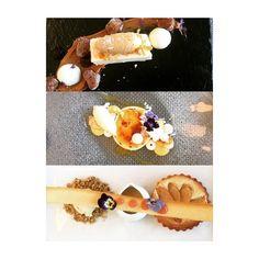 Most amazing desserts at Elephant Hill #elephanthill #desserts #parfait #peanutbuttericecream #creambrulee #tart